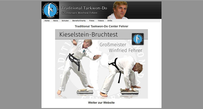 Taekwon-Do Winfried Fehrer